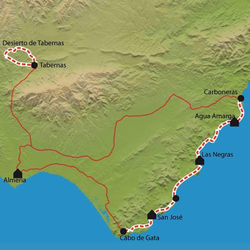 Randonnée Cabo De Gata Désert De Tabernas Andalousie Road Trip Espagne Almeria Espagne