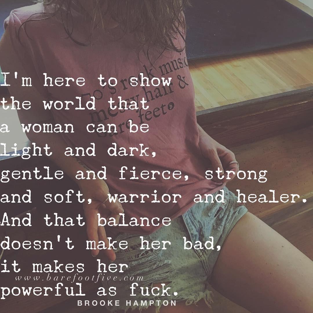👊 . . . . #woman #wild #bold #wildwoman #brookehampton ...