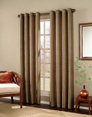 Lving Room or Bed Room - Meridian Modern Textured Grommet Panel ...