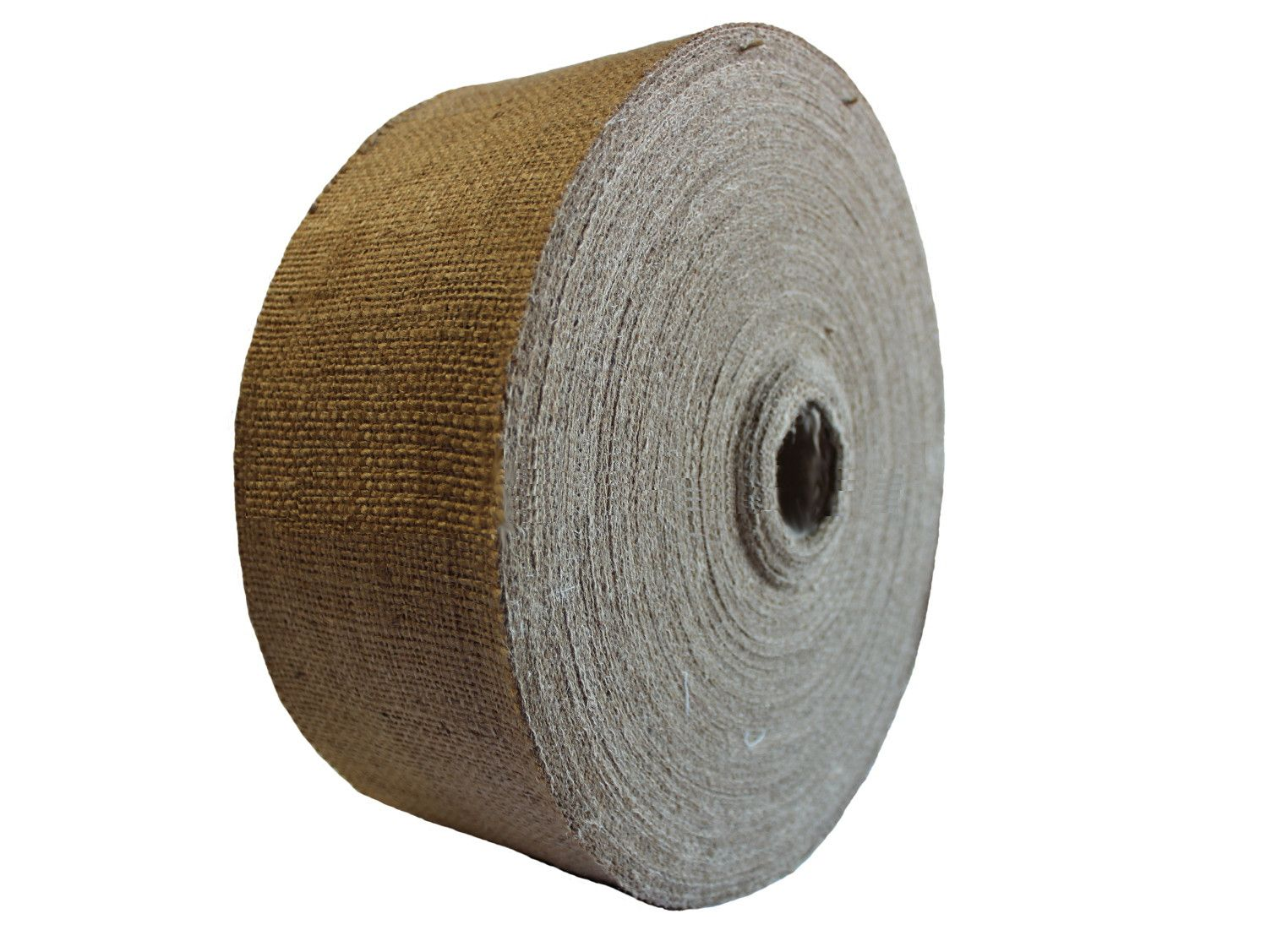 """5"""" Wide Burlap Roll - 100 Yards (10oz) - Click Image to Close"""