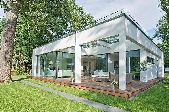 Wohnen im wandel der zeiten erlebnistour von der for Architekten bungalow modern