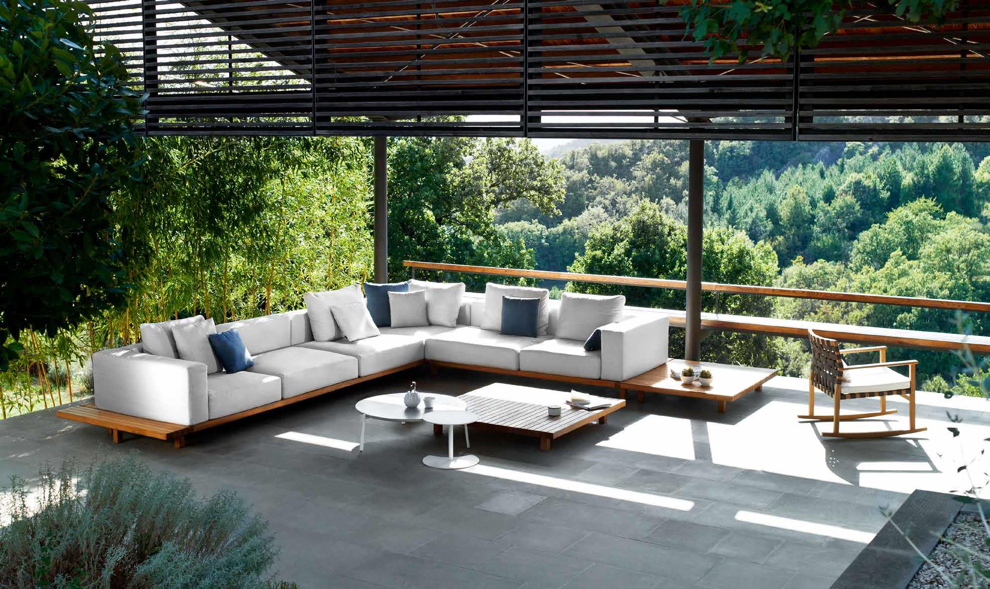 Collection Vis A Vis De Tribu Meubles De Jardin En Teck Mobilier Jardin Vie En Plein Air