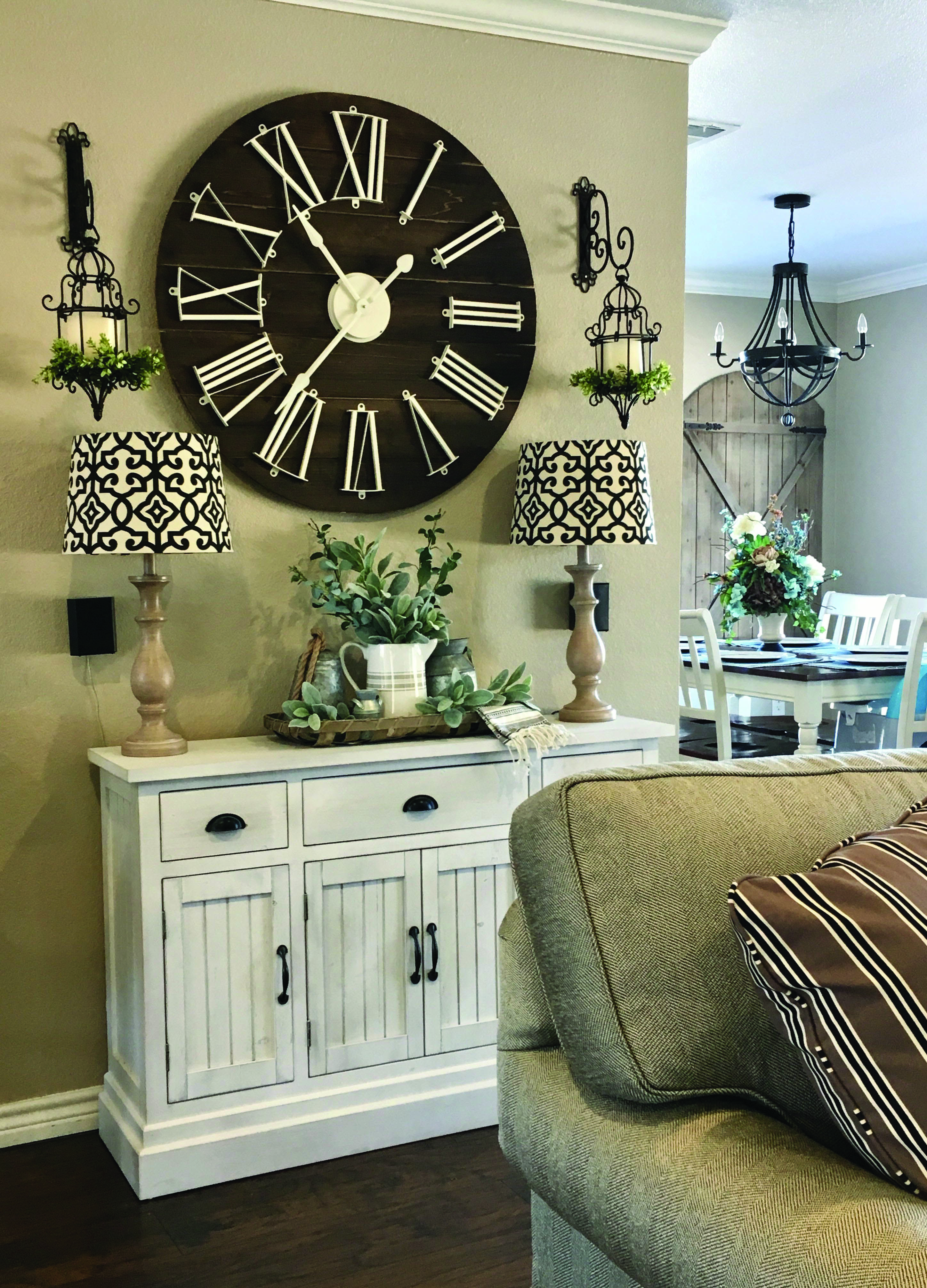 Farmhouse Style Living Room Tips Dining Room Trends Wall Decor