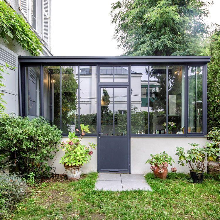 v randa l 39 extension d co de la maison veranda pinterest farniente les beaux jours et volute. Black Bedroom Furniture Sets. Home Design Ideas