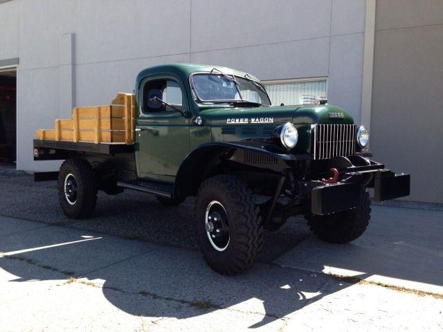 1955 dodge power wagon 23 000 id 4x4 4sale pinterest dodge