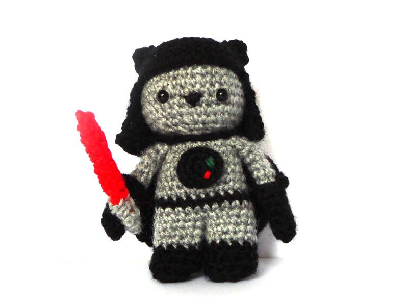 Amigurumi Star Wars Patterns : The dark side just turned cuter & much more appealing! be seduced by