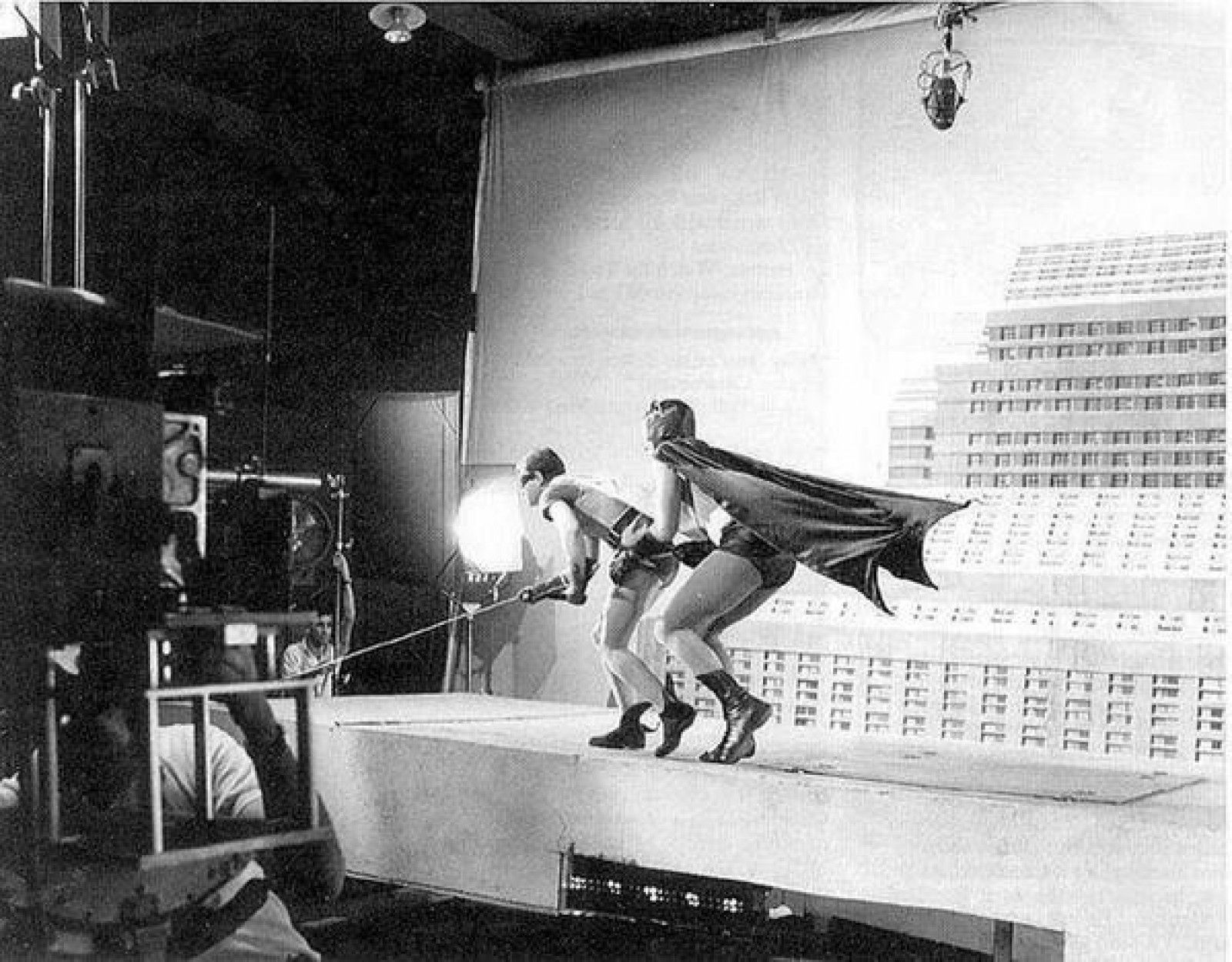 The making of Batman in 1966