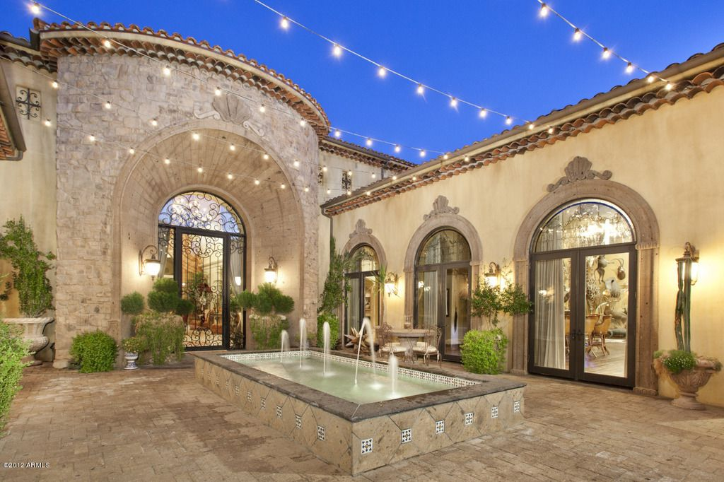 Courtyard   Scottsdale AZ   Phoenix Luxury Homes   www InzalacoTeamAZ comCourtyard   Scottsdale AZ   Phoenix Luxury Homes   www  . Luxury Lighting Az. Home Design Ideas