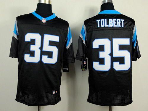 Nice Nike Carolina Panthers #35 Mike Tolbert Black Elite Jersey | NFL  supplier