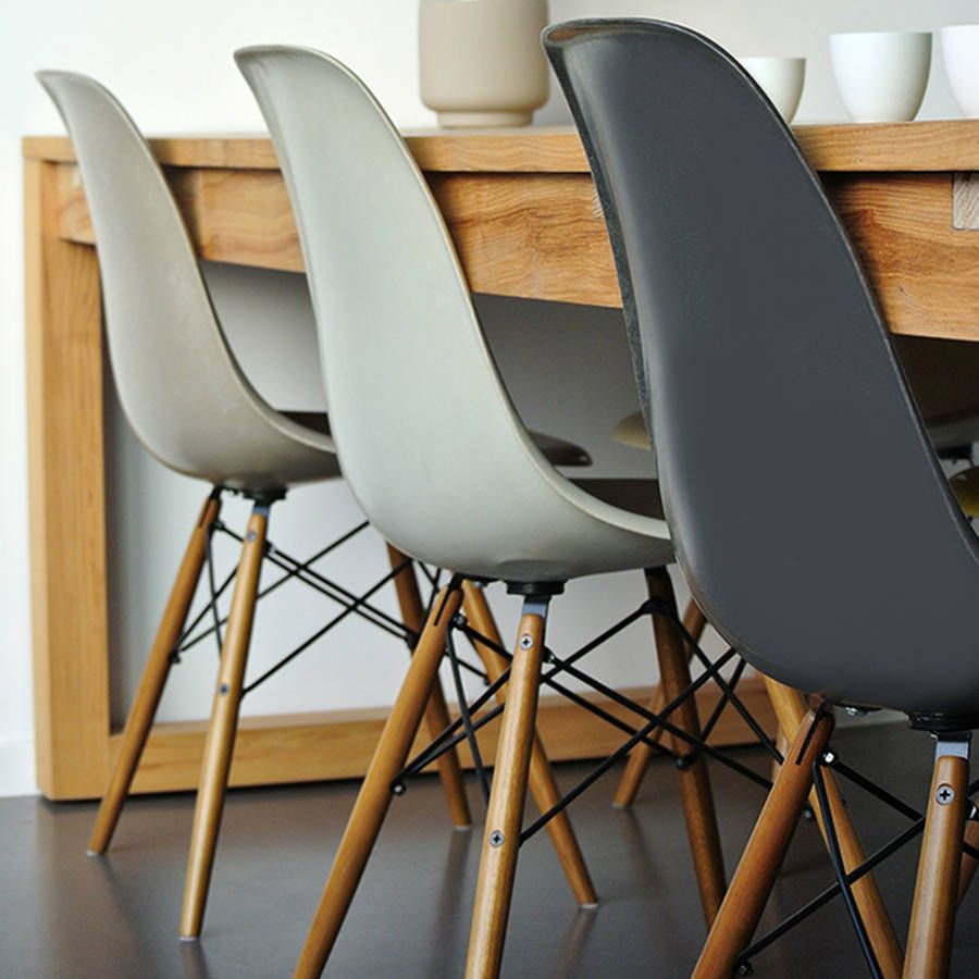 Bon Classic Eames Style Chair.Modern Winter Luxe Neutral Naturals, Select From  Complimentary Tones Of Vanilla, Soft Dove Grey, Taupe, Charcoal Made To  Order ...