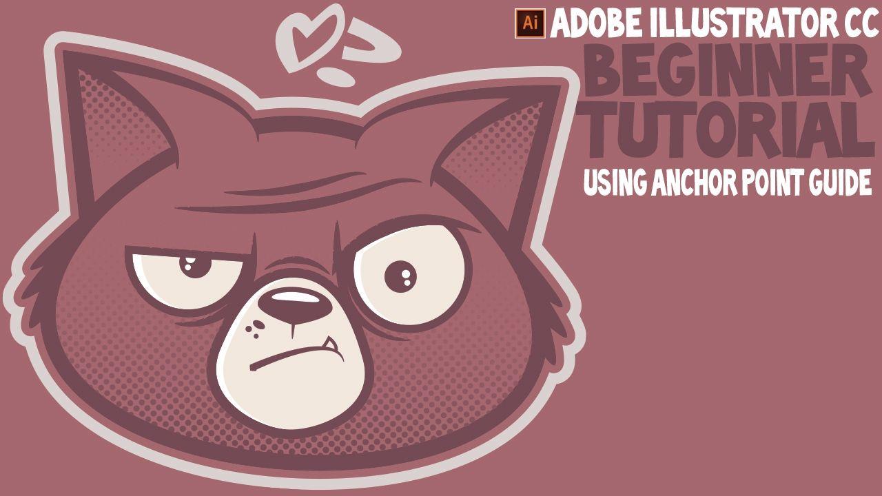beginner adobe illustrator cc tutorial sad cat halftone | adobe