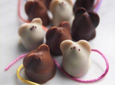 chocolate mice #kawaii