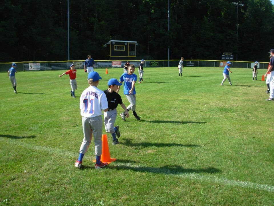 The Morning Warm Up At An Outdoor Camp In West Milford Nj In July 2012 Baseball Camp Outdoor Camping Warmup