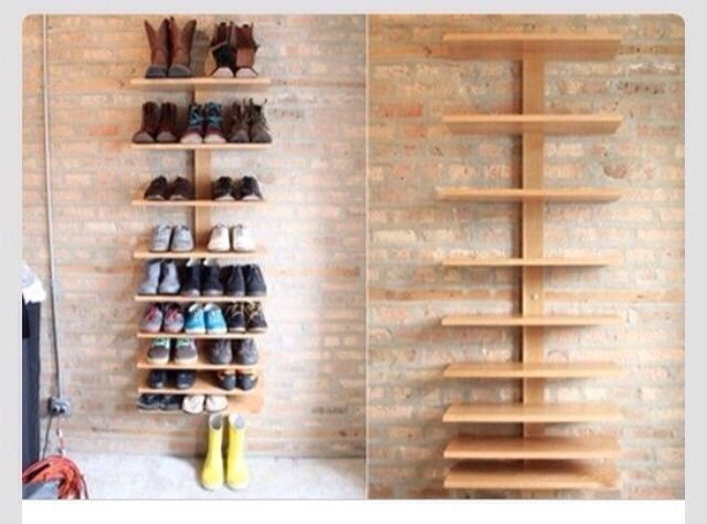 The Great And Affordable Diy Shoe Rack That You Can Easily Make In Your Home 10ideas Shoes Racks Storage Diy Shoe Storage Diy Shoe Rack Cantilever Shelf