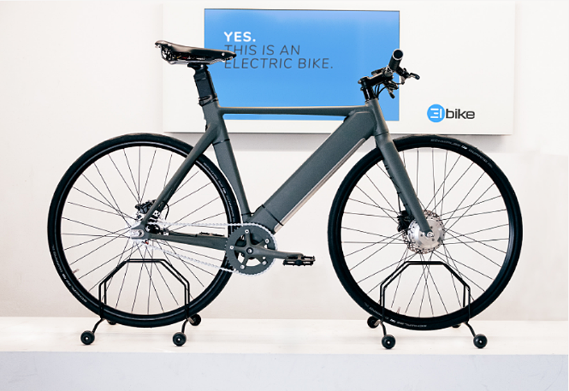 The Elbike Is A Custom Electric Bicycle With A Slick Aluminum Frame Electric Bicycle Electric Bike Bicycle
