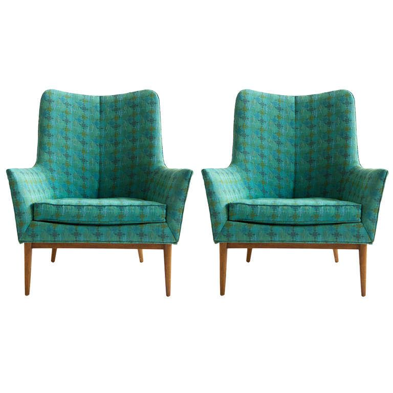 mid century furniture 1stdibscom pair of paul mccobb lounge chairs