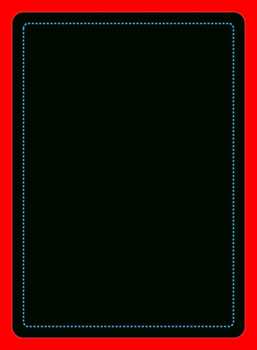Blank playing card transparent png clipart free download
