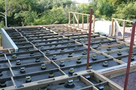 Why Elevated Roof Deck Systems Elevateddecksystems Com Deck Systems Deck Framing Rooftop Deck