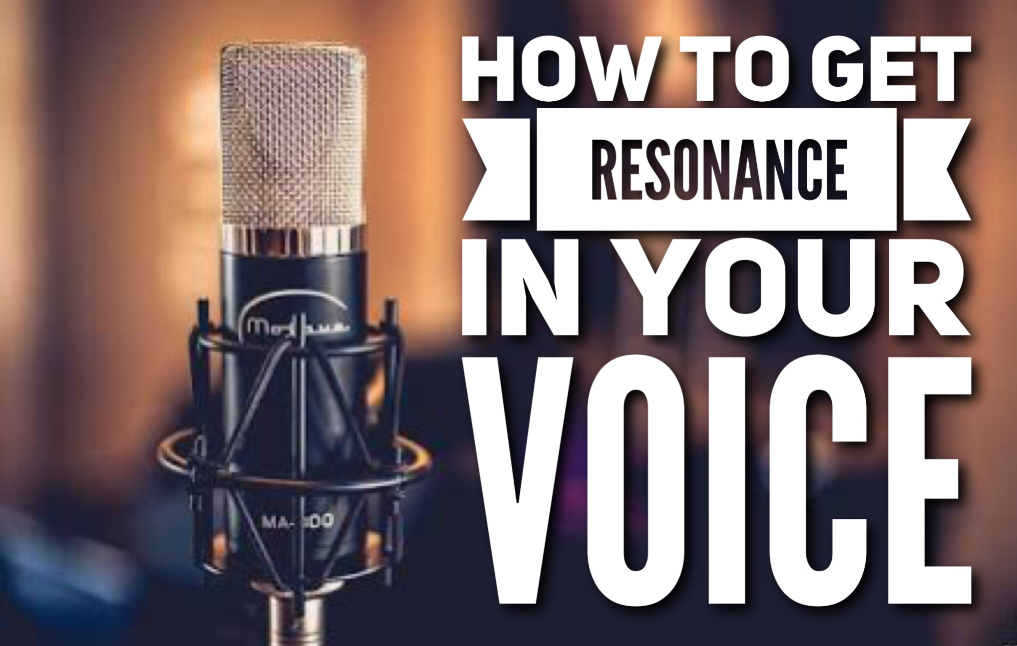 How to get resonance in your voice | Vocal warmups, Vocal ...