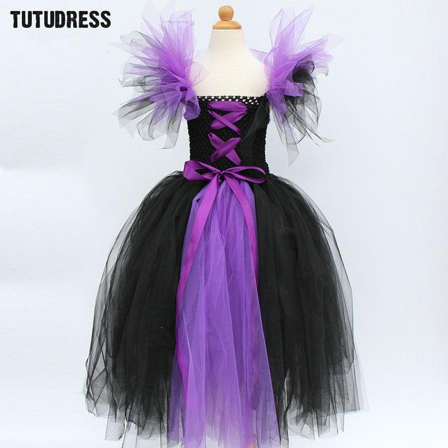 Aliexpress.com: Comprar Negro Púrpura Del Tutú de La Muchacha Niños ...
