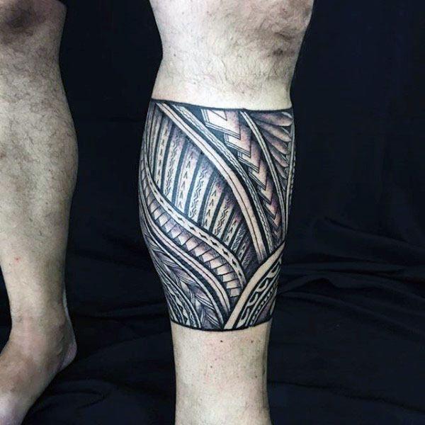 60 Tribal Leg Tattoos For Men Cool Cultural Design Ideas Tribal Tattoos Tattoos For Guys Leg Tattoo Men