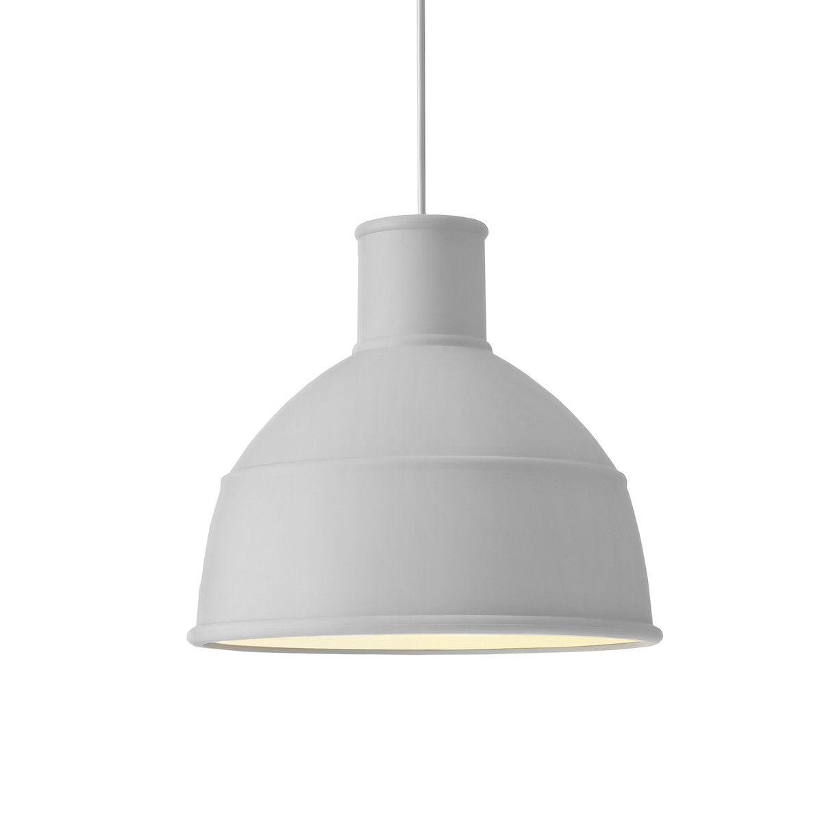 Muuto Unfold Pendant Lamp, grey   Pendelleuchte, Anhänger