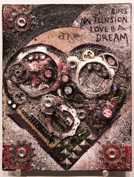 Raeghan Buchanan - Original art for Rivet's 02/14 exhibition.