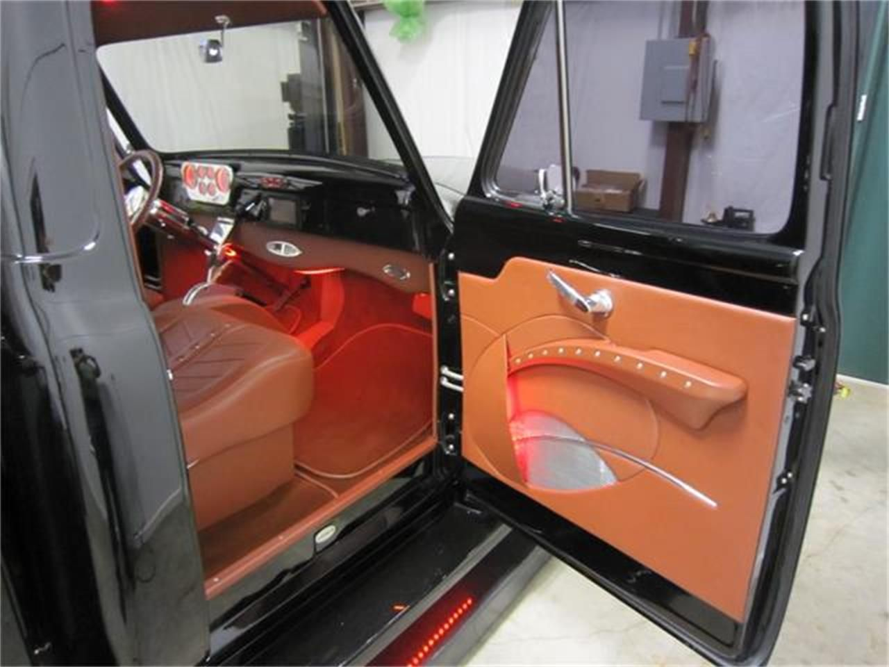 1953 Ford F 100 Door Panel Truck Interior Custom Car Interior Mustang Interior