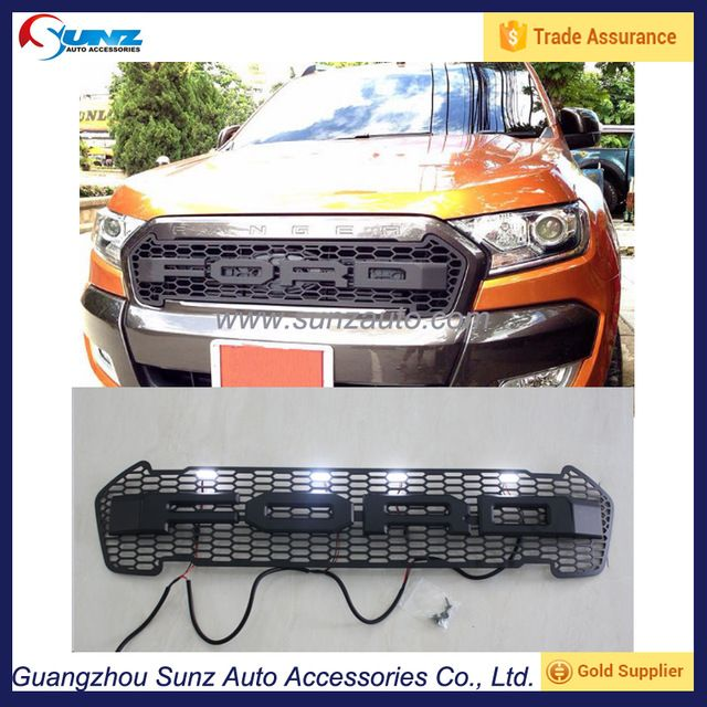 Source Exterior Accessories Front Grille Fit For Ford Ranger Wildtrak 2015 2016 Abs Front Grill On M Alibaba Ford Ranger Wildtrak Ford Ranger Ford Ranger 2016