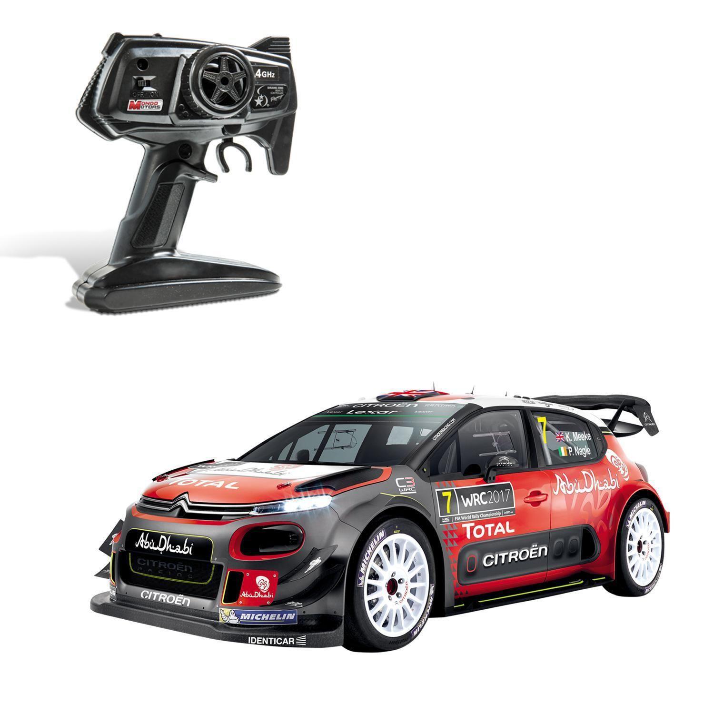 Voiture Radiocommandee Citroen C3 Wrc 4 Wd Drifting 1 10eme Mondo Motors Le Jouet A Prix Voiture Citroen C3 Et Rallye Wrc