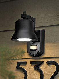 online retailer d2670 345ba Battery Powered LED Motion Sensor Porch Light | Lighting ...