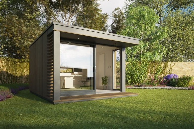 We Chat With Contemporary Garden Room Designers Pod E About Their Range Of Home Offices What Is Your Most Por Office Design The Mini