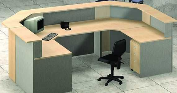 Mod-U Link Reception #Desk with Unmatched Functionality and Style