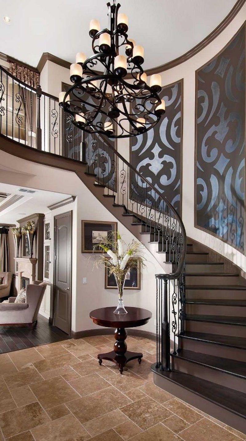 Tapiz en la escalera entry hall pinterest staircases house