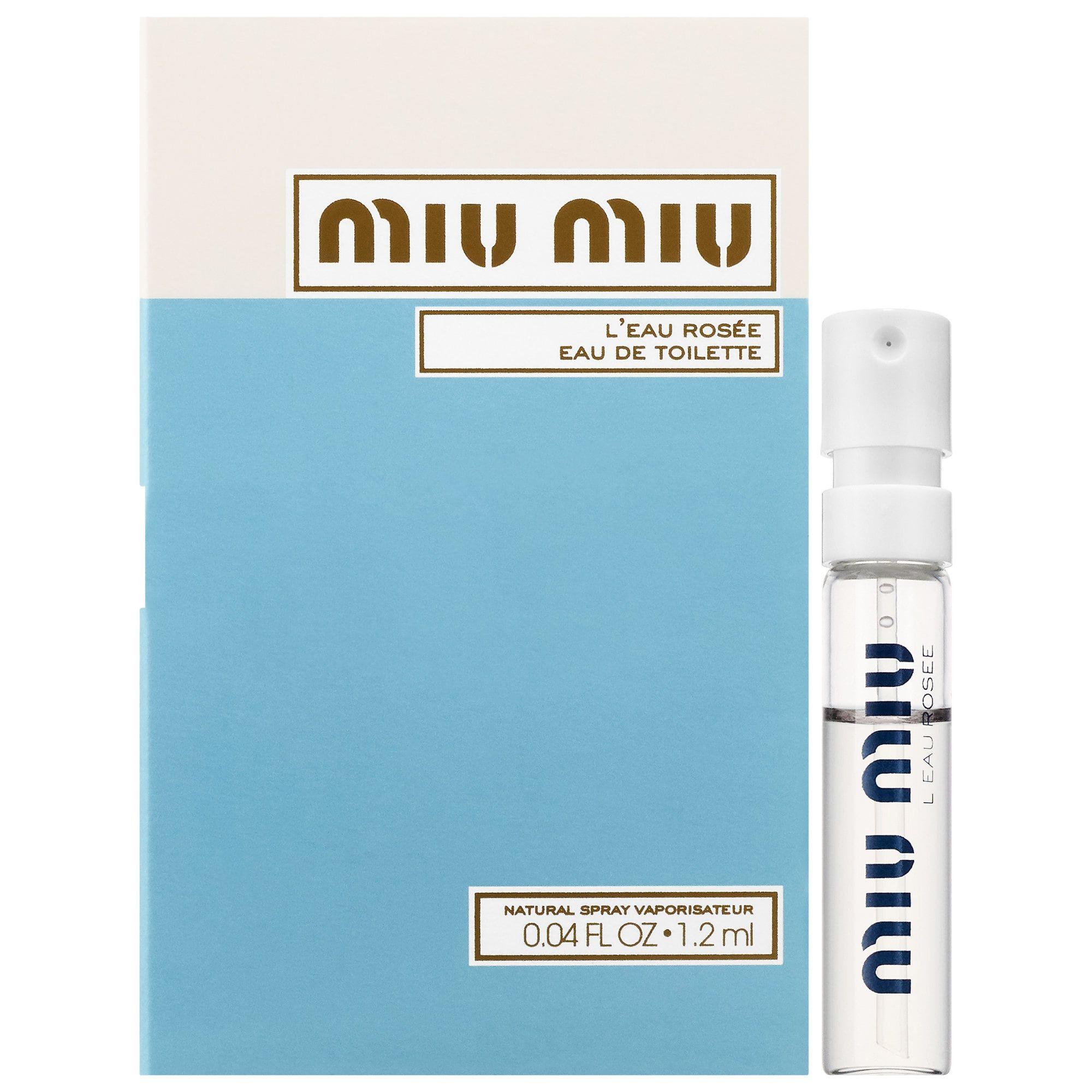 Miu Miu, Miu Miu L Eau Rosée EDT (sample)   beauty   fragrance ... 4358c7fd661