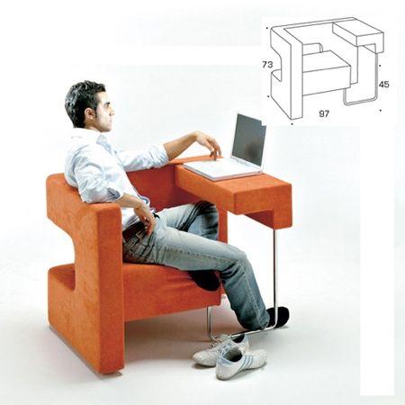 Fauteuil meuble informatique Ordi Bureau pour ordinateur