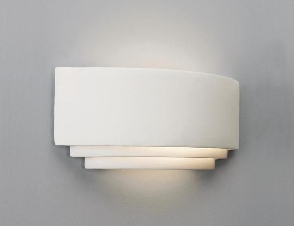 0423 Amalfi Art Deco Wall Light, Ceramic wall washer from Lights 4 ...