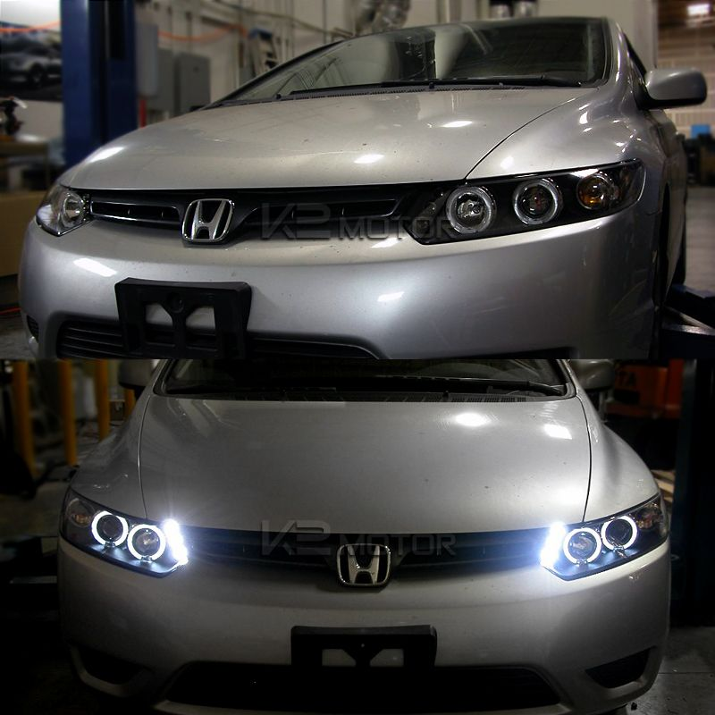 08 Honda Civic Coupe Headlights Di 2020