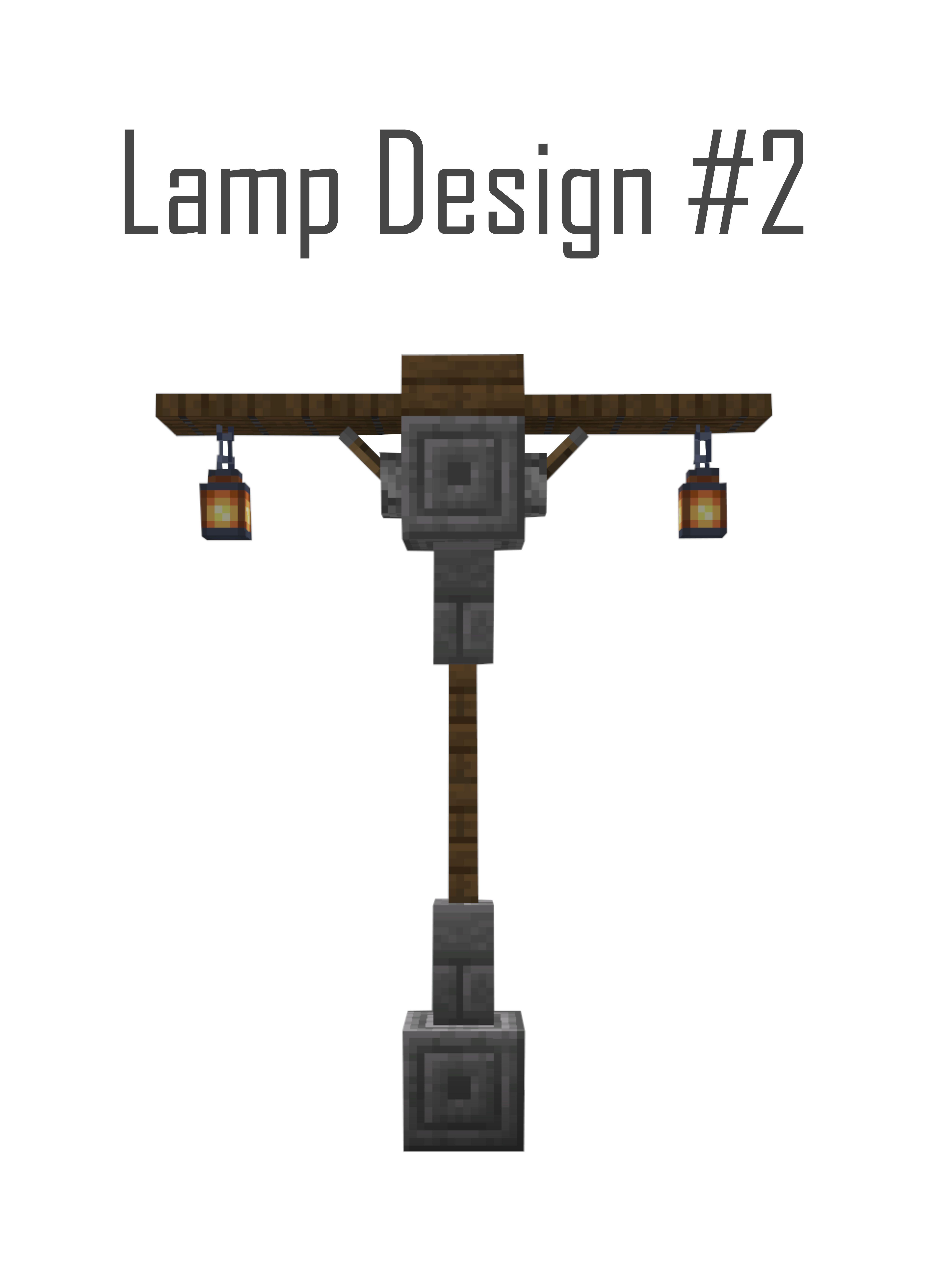 Minecraft Building Ideas Minecraftbuildingideas Medieval Street Lamp Design In 2020 Minecraft Building Minecraft Designs Minecraft