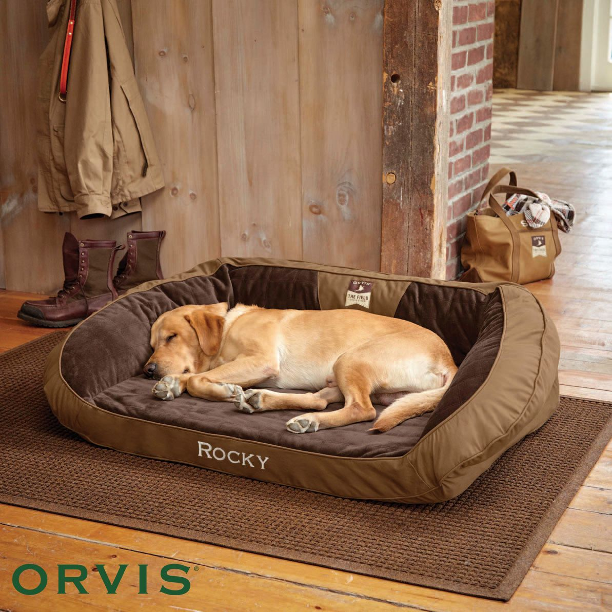 Orvis Field Collection Memory Foam Bolster Dog Bed Your