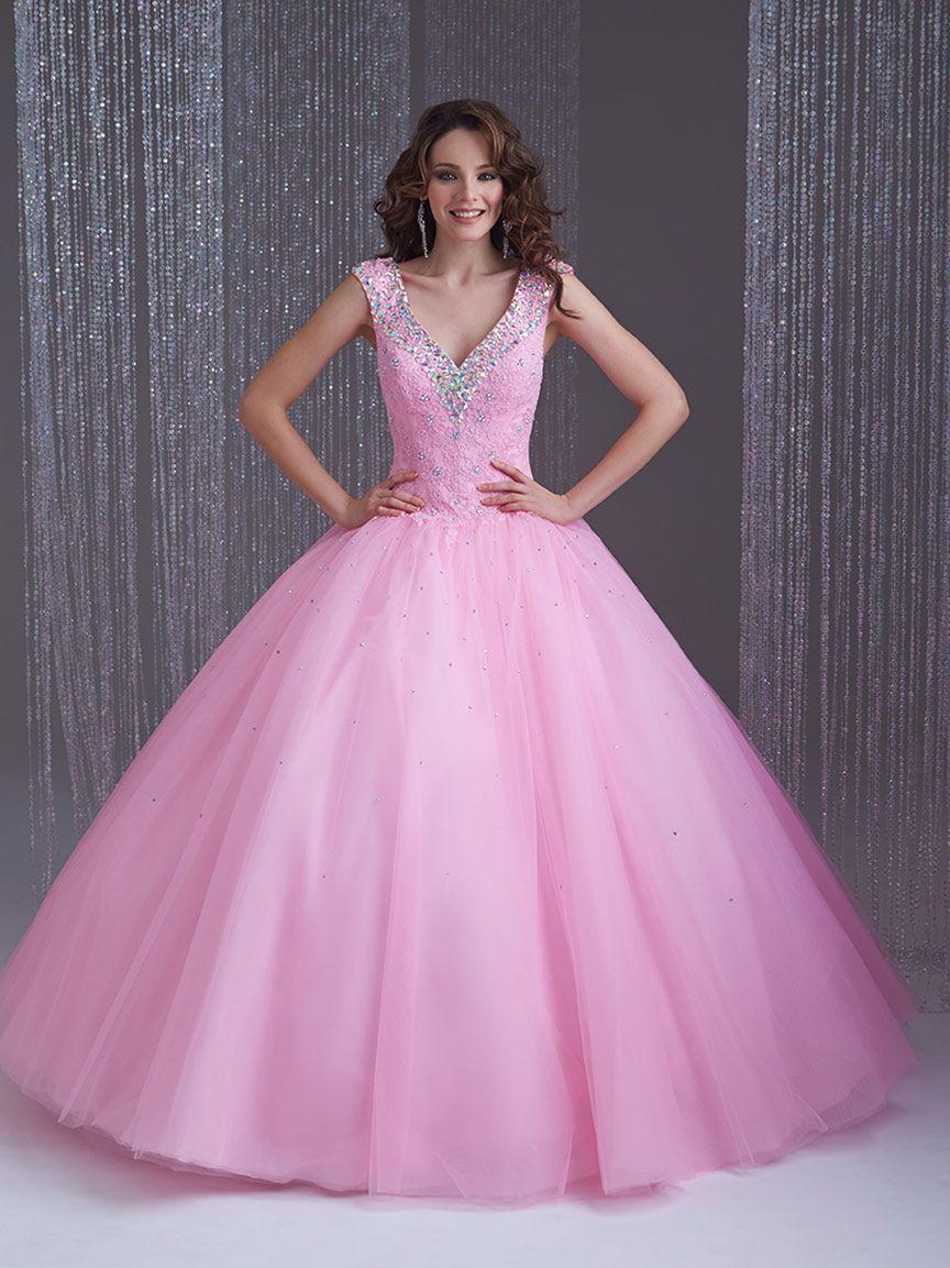 vestidos de años largos y cortos en color rosa vestidos glam