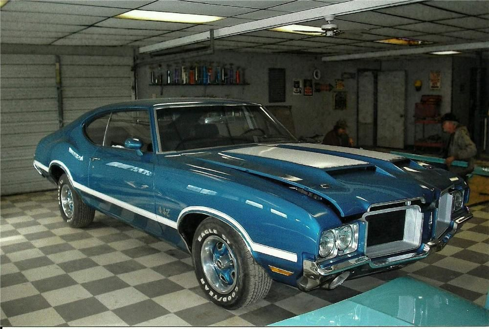 1971 OLDSMOBILE 442 2 DOOR COUPE – Barrett-Jackson Auction Company – World's Greatest Collector Car Auctions