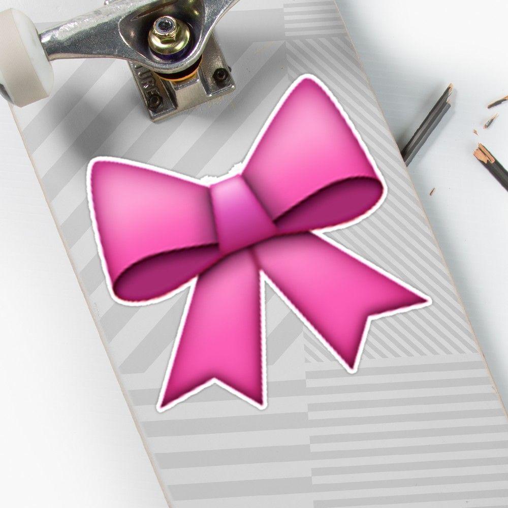 Emoji Pink Bow By Emoji Pink Bow Emoji Pink