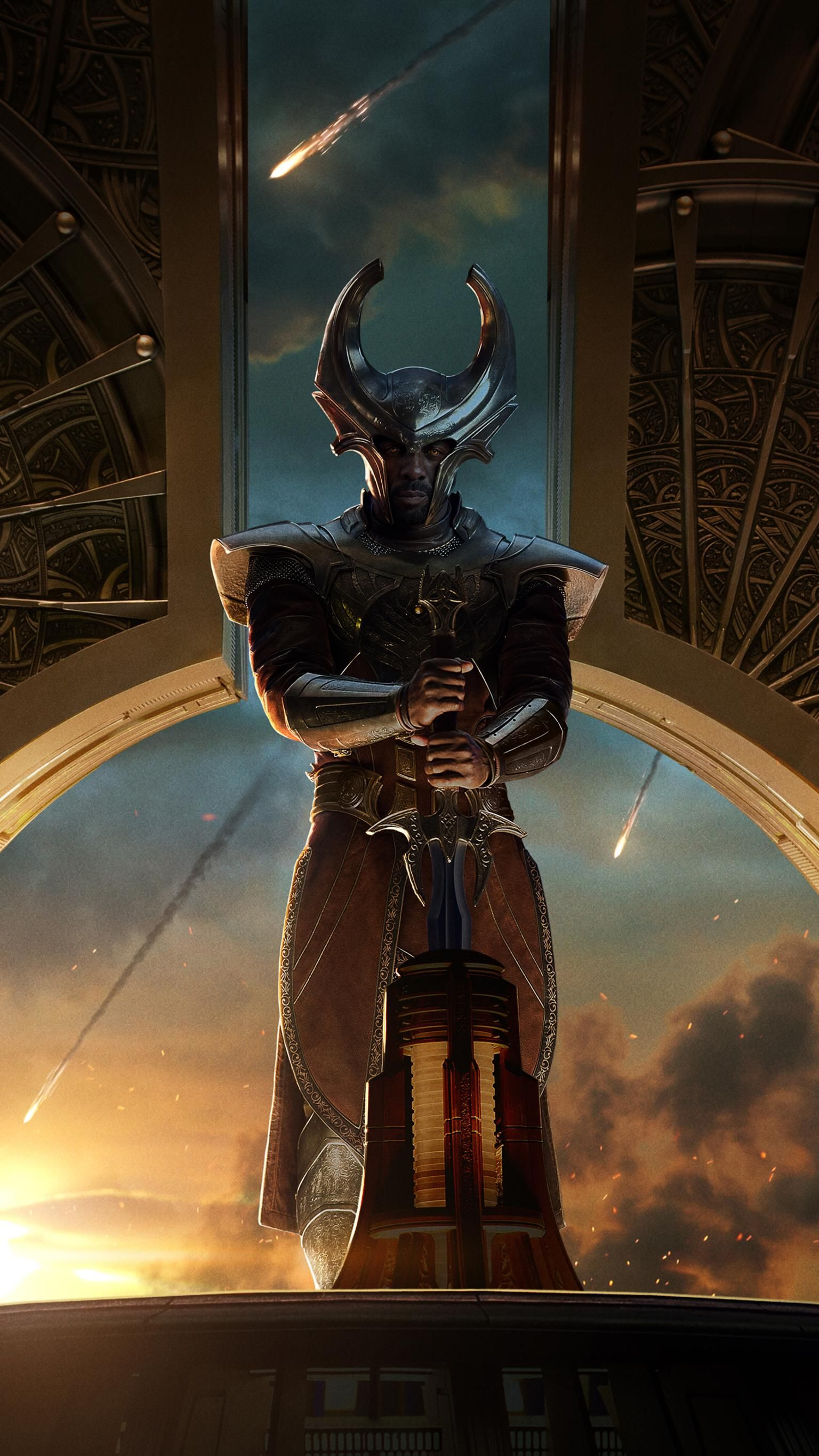 Thor The Dark World (2013) Phone Wallpaper Marvel
