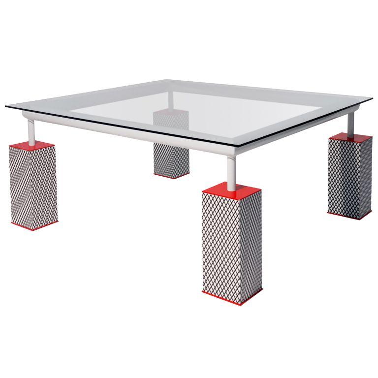 Contemporary Furniture Memphis: Table Mandarin- Ettore Sottsass- Memphis