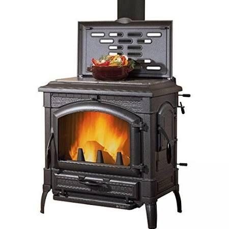 La Nordica Isotta Evo Mit Kochplatte Kaminofen Gussofen Scheitholzofen Wood Stove Wood Burning Stove Stove Fireplace