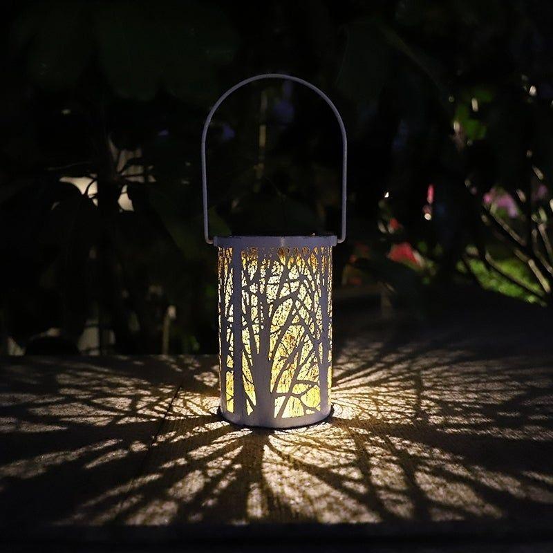 Outdoor Waterproof Solar Light Led Lantern Retro Hanging Lamp Decors For Patio Garden Yellow Coutlet Solar Lights Lamp Decor Led Candle Lights