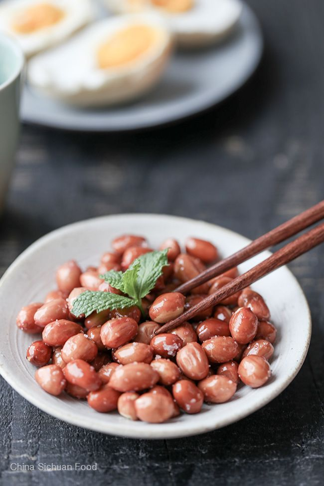 Chinese Fried Peanuts Homemade Asian Food Asian Cooking Chinese Dishes