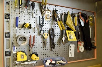 Wall Pegboard · Garage Organization ...