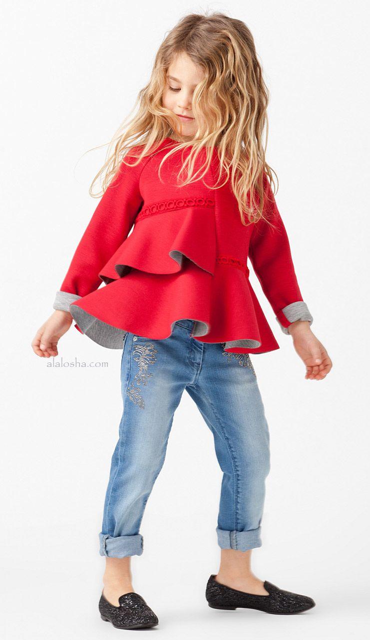 ALALOSHA: VOGUE ENFANTS: Fashion Alert! Ermanno Scervino FW15